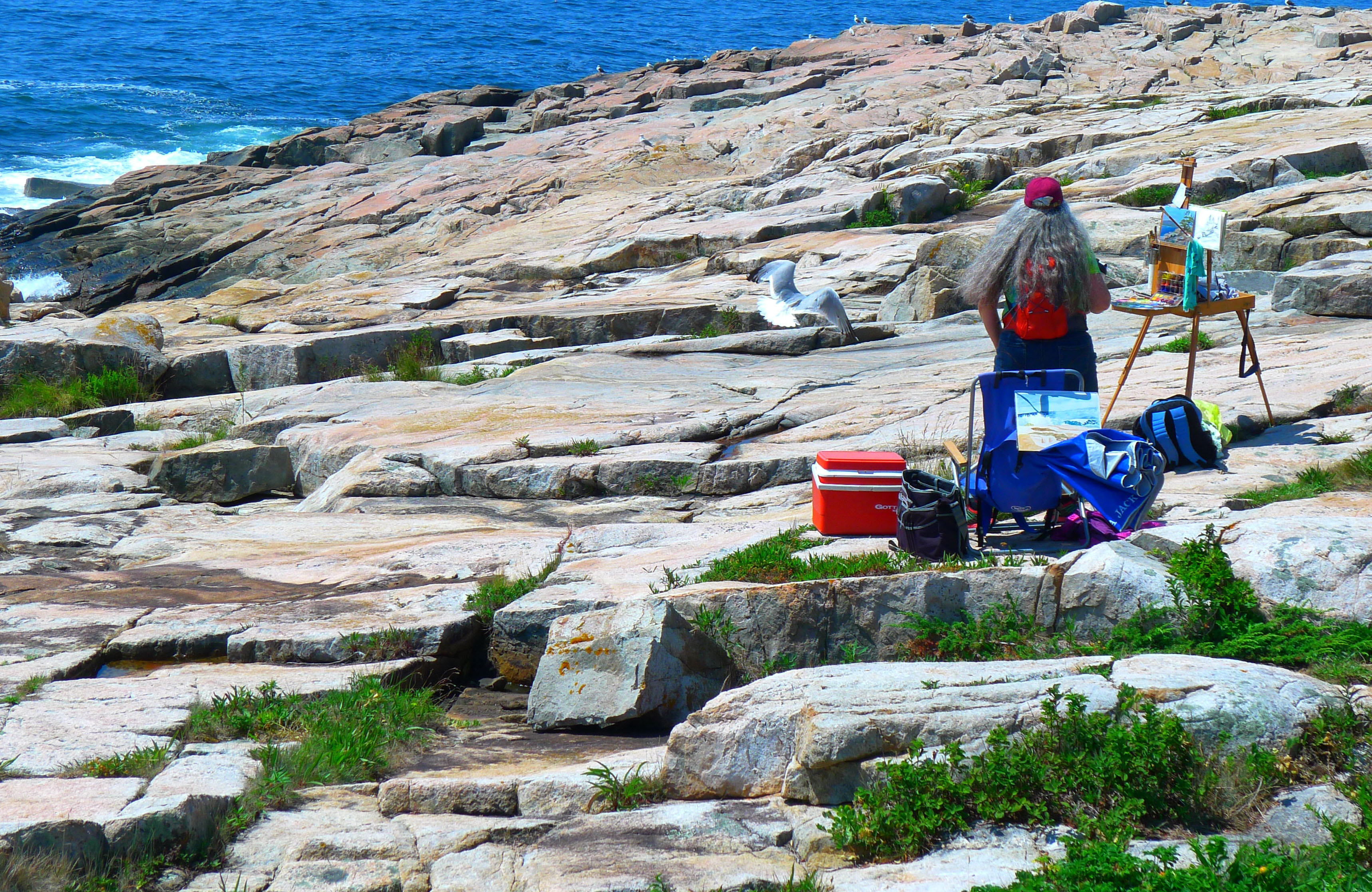 Far from the hustle and bustle of Bar Harbor, Schoodic Peninsula has dramatic rock formations, windblown pines, pounding surf and stunning mountain views that draw visitors from around the world.